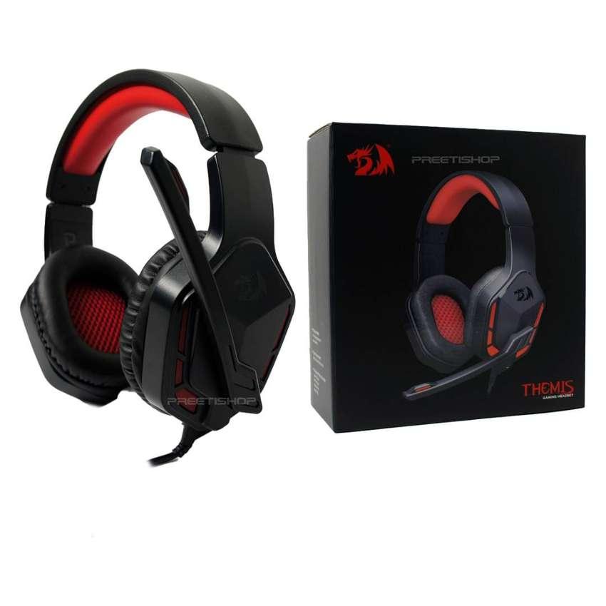 Headset Gamer H220 Themis Redragon Stereo Jack 3.5 Micrófono