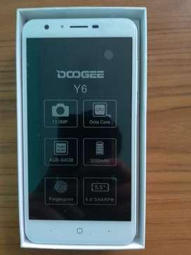 Doogee Y6 64gb de Rom, Huella Dactilar