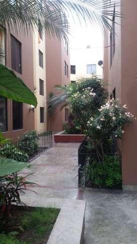 ID 142959 Alquiler de departamento en Breña 65 m2, 3er piso, excelente ubicación, condominio cerrado en avenida Huaraz