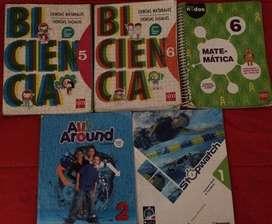 LIBROS BI CIENCIA 5 y 6 /ALL AROUND 2 CD
