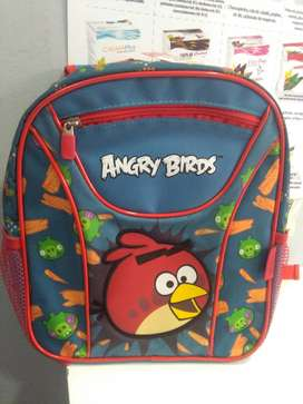 Mochilas Avengers, angry birds, Back to school.