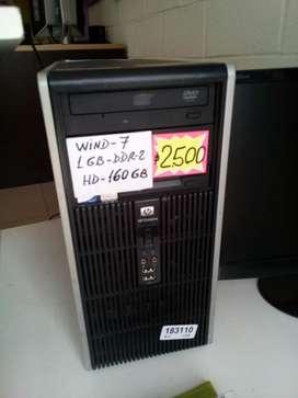 CPU DOBLE NUCLEO 1GB DDR-2 HD-160 GB (C/GARANTIA)