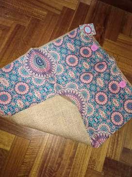 Funda almohadon alpillera y lona