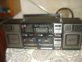 Radiograbador National Rx Cw200f De Los 80s Exc No Envio