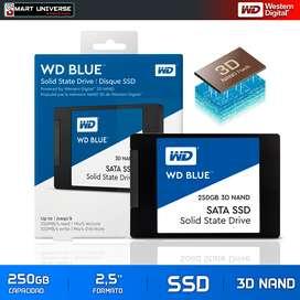 Disco Duro Solido WD 250gb 2,5'' Blue