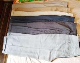 Pantalones usados