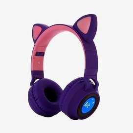 Audífonos Bluetooth Cat Ear JR-028