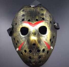 Máscara De Jason Viernes 13 Dorado Oscuro con ENVÍO GRATIS y REGALO