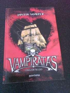 Lote 5 libros Saga Vampiratas 200 cada uno