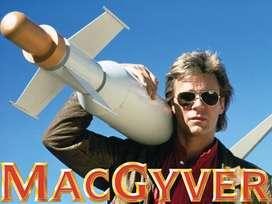 MacGyver (1985) Serie completa + Sus 2 películas Envío Incluido