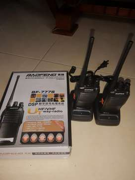 Radios de comunicación one