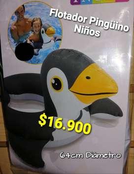 FLOTADOR TIPO PINGUINO NIÑOS
