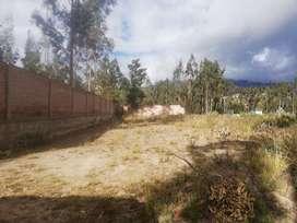Vendo Terreno de 1.000 m2 cerca a la Hostería El Troje