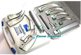 Set De Laringoscopio De Fibra Óptica, Macintosh. Adc