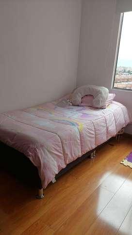 Oferta cama sencilla base y colchón
