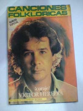 Canciones Folkloricas/Revista Coleccionable! Victor Heredia