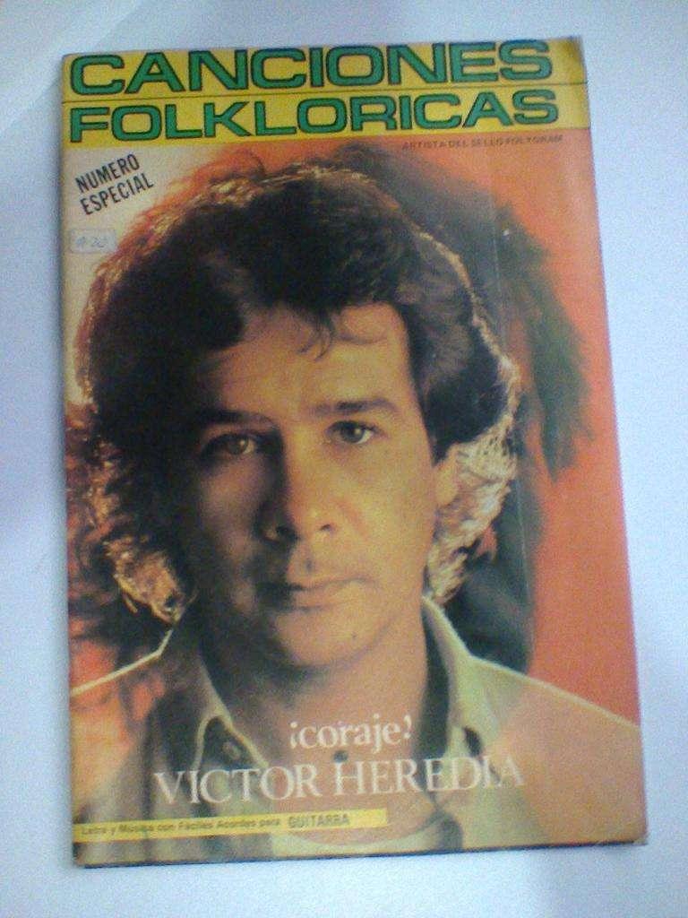 Canciones Folkloricas/Revista Coleccionable! Victor Heredia 0