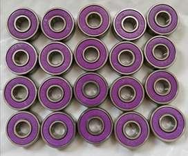 Rodamientos sellados abec 9 Alto rendimiento x8