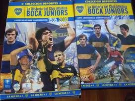 Colección de DVD historia de Boca juniors
