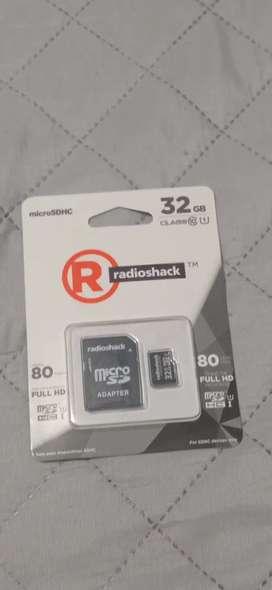 En venta memoria SD de 32 GB para celulares