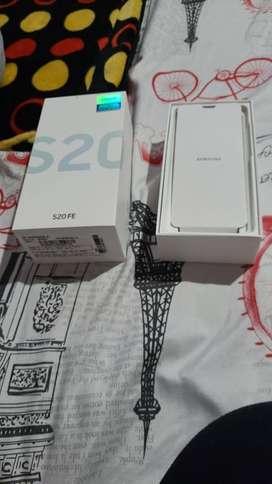 Vendo Samsung S20 Fe , 256 gigas  nuevo