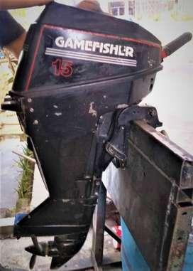 MOTOR FUERA DE BORDA GAMEFISHER 15 H.P. DOS TIEMPOS