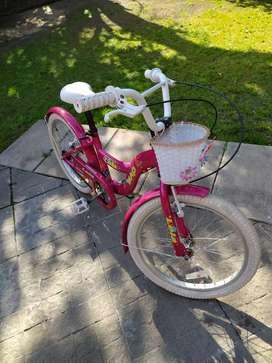 Bicicleta de niña rodado 20 Lola Mao impecable cómo nueva casi sin uso