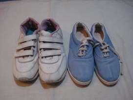 Zapatillas de mujer n.39 (x2)