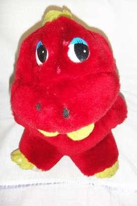 Simpático peluche nene disfraz de dinosaurio