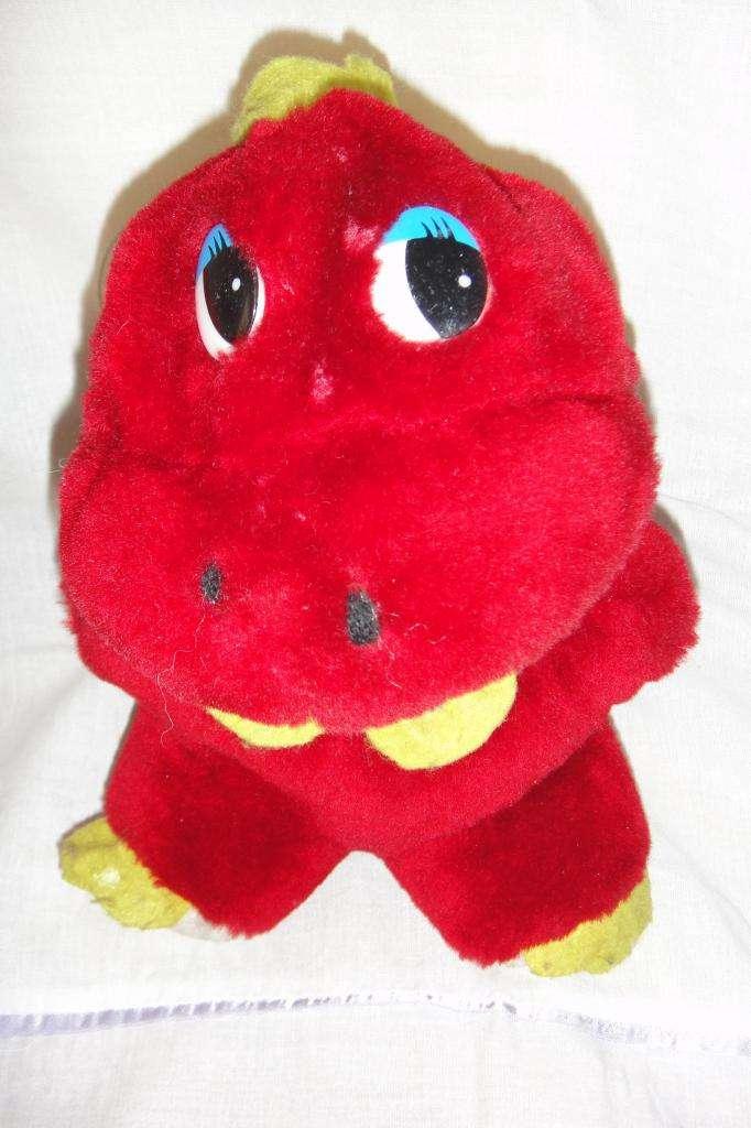 Simpático peluche nene disfraz de dinosaurio 0