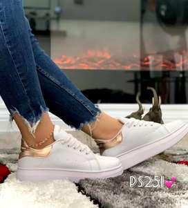 Zapato Tennis Deportivo Alexander McQueen Para Mujer