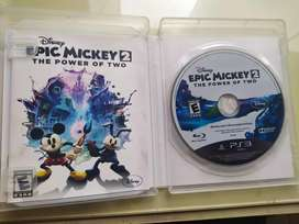 Juego para PS3 Epic Mickey original