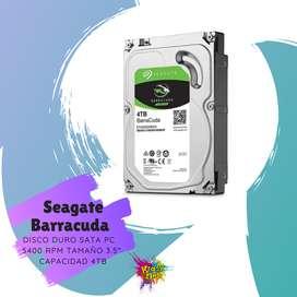 disco duro sata pc seagate barracuda 4tb teras