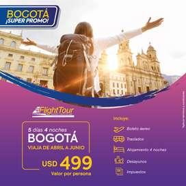 Paquete Bogota