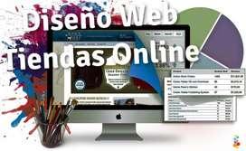 Diseño de Pagina Web, Tienda Virtual