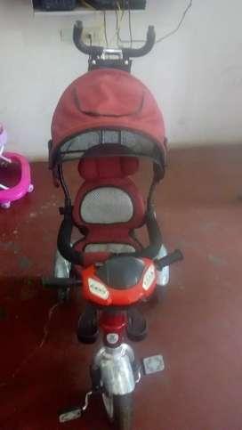 Carrito-triciclo
