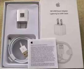 CARGADOR IPHONE  5W USB