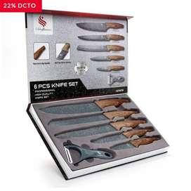 Cuchillos en cerámica 6pcs