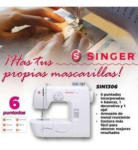 MAQUINA DE COSER SINGER SIN1306