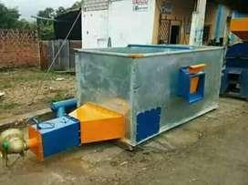 Secadora de cacao capacidad 10qq