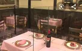 FABRICAMOS : DIVISIONES  PARA Restaurantes. Mantenimientos en general