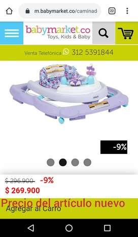 Caminador para bebé marca infanti
