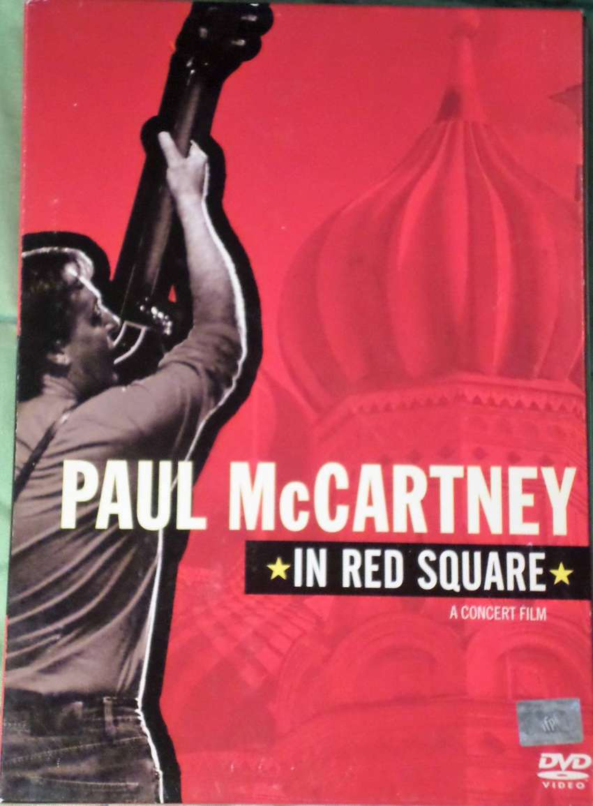 Paul Mc Cartney in Red Square. Dvd Dual layer. Original. Impecable.