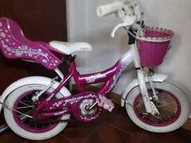 Bici raleigh rodado 12