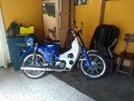 Honda c70 modificada