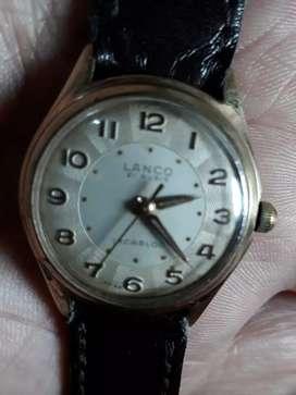 Vendo cambio clásico reloj  LANCO DE CUERDA suizo