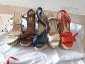 vendo bellos  zapatos studio f y ela