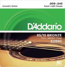 ENCORDADO METÁLICO PARA ACÚSTICA DADDARIO EZ890/EZ900