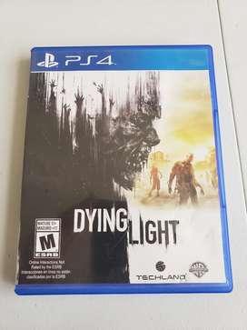 Dying light para Ps4 (negociable)