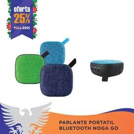 PARLANTE PORTATIL BLUETOOTH NOGA GO NGS-T19